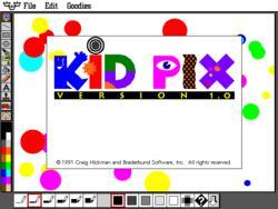 10. KidPix.