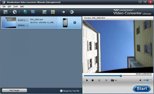 10. Wondershare Video Converter