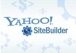 4. Yahoo SiteBuilder Premier