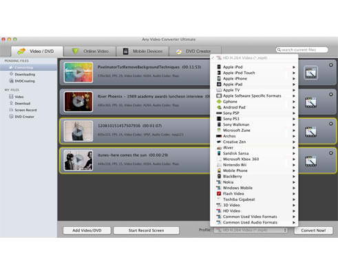 10. Any Video Converter Ultimate for Mac