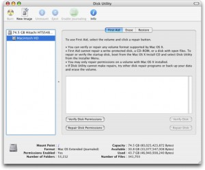 10.The Disk Utility Program takes care of it for you