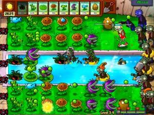 3. Plants Vs. Zombies