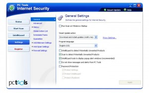 6. PC Tools Internet Security