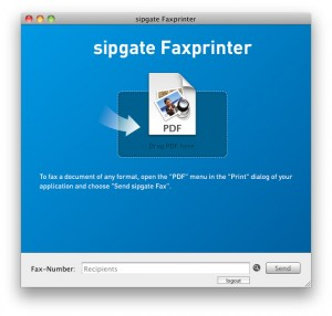 9Sipgate Faxprinter