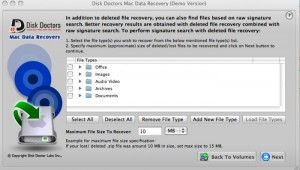 10. Disk Doctors Mac Data Recovery